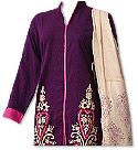 Dark Magenta/Pink Marina Suit- Pakistani Casual Dress
