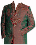 Modern Sherwani 09- Pakistani Sherwani Suit for Groom