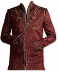 Modern Sherwani 19- Pakistani Sherwani Suit for Groom