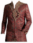Modern Sherwani 32- Pakistani Sherwani Suit for Groom