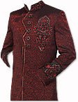 Modern Sherwani 35- Pakistani Sherwani Suit for Groom