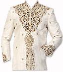 Modern Sherwani 41- Pakistani Sherwani Suit for Groom