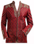 Modern Sherwani 45- Pakistani Sherwani Dress
