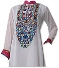 Off-White Georgette Suit - Indian Dress