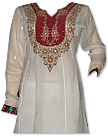 White Georgette Suit - Indian Dress