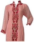 Peach Chiffon Suit- Indian Semi Party Dress