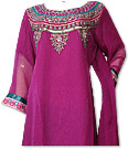 Magenta Chiffon Suit- Indian Dress