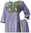 Lilac Cotton Suit- Pakistani Casual Clothes
