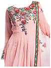 Pink Chiffon Suit - Indian Dress