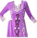 Purple Georgette Suit