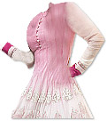 Off-white/Pink Georgette Suit - Indian Dress
