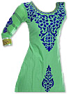 Light Green Georgette Suit- Pakistani Casual Clothes