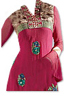Magenta Georgette Suit  - Indian Semi Party Dress