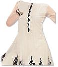 White Chiffon Suit- Indian Semi Party Dress
