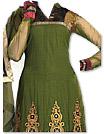Mehndi Green Georgette Suit