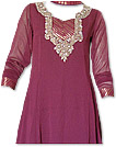 Dark Magenta Georgette Suit - Indian Dress