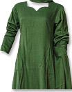 Green Marina Suit- Pakistani Casual Clothes