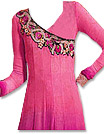 Pink/Magenta Georgette Suit