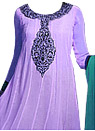 Light Purple Chiffon Suit