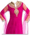 Pink Chiffon  Suit - Indian Semi Party Dress