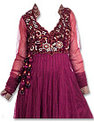 Magenta Chiffon Suit- Indian Semi Party Dress