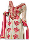 Off-white Georgette Suit - Indian Semi Party Dress