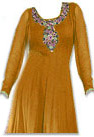 Mustered Georgette Suit