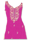 Pink Georgette Suit  - Pakistani Casual Dress