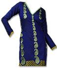Royal Blue/Olive Georgette Suit