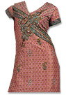 Tea Pink Jamawar Suit - Indian Semi Party Dress