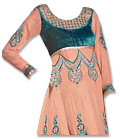 Peach Georgette Suit - Indian Dress