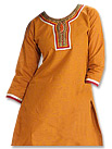 Orange/Red Georgette Suit - Pakistani shalwar dress