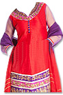 Red/Purple Georgette Suit  - Indian Dress