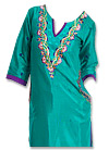 Sea Green Georgette Suit - shalwar kameez