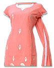 Peach Georgette Suit - Pakistani Casual Dress