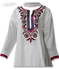 Cream Georgette Suit - Pakistani Casual Dress