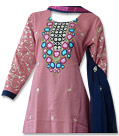 Tea Pink Georgette Suit