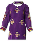 Dark Purple Georgette Suit