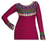 Magenta/Blue Georgette Suit- Indian Dress