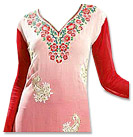 Red/Pink Georgette Suit