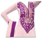 Light Pink Chiffon Suit