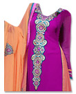 Purple Georgette Suit