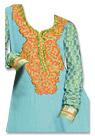 Sky Blue Georgette Suit- Indian Semi Party Dress