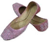 Ladies khussa- Pink- Pakistani Khussa Shoes