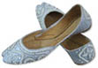 Ladies khussa- White- Pakistani Khussa Shoes