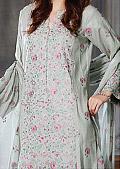 Grey Cotton Karandi Suit- Pakistani winter dress