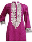 Hot Pink Cotton Shirt- Pakistani Casual Clothes