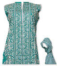 Sea Green Cotton Lawn Suit- Casual Salwar Kameez