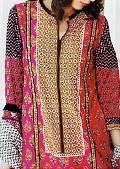 Indigo Cotton Lawn Suit