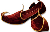 Gents Khussa- Maroon- Pakistani Khussa for Men